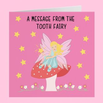 A Message From The Tooth Fairy Card - Iconic Collection